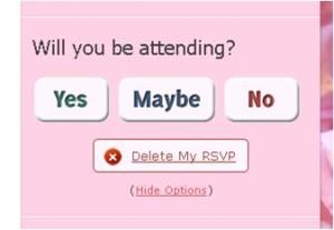 tweetvite:内容変更、削除。